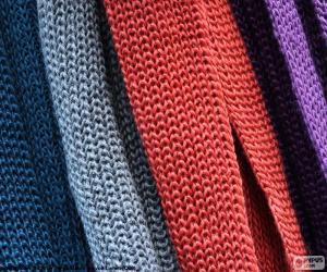 Puzzle Écharpes de laine