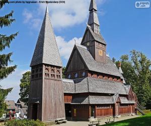 Puzzle Église de bois, Allemagne
