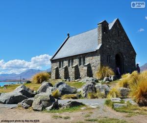 Puzzle Église du Bon Berger, NZ