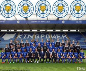 Puzzle Équipe de Leicester City 2015-16