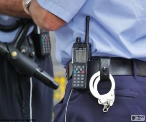Puzzle Équipements de police