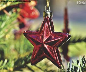 Puzzle Étoile de Noël
