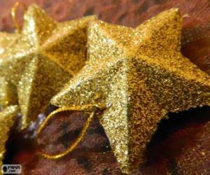 Puzzle Étoile pour arbre de Noël
