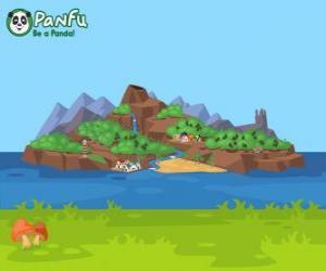 Puzzle Île de Panfu