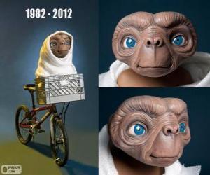 Puzzle 30 Anniversaire de ET l'extra-terrestre (1982)
