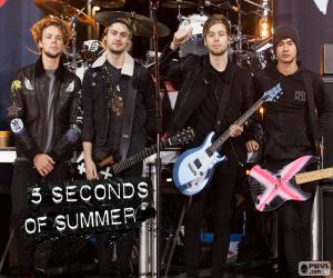 Puzzle 5 Seconds of Summer, 5SOS