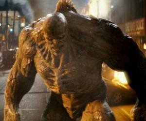 Puzzle Abomination est l'ennemi de l'incroyable Hulk