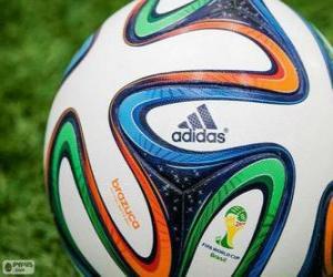 Puzzle Adidas Brazuca, le ballon officiel de la Coupe du Monde Brésil 2014
