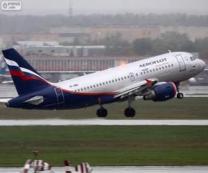 Puzzle Aeroflot, Russian Airlines