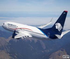 Puzzle AeroMexico Aerovías de México est une compagnie aérienne mexicaine