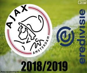 Puzzle AFC Ajax, champion 2018-2019