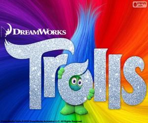 Puzzle Affiche du film Les Trolls