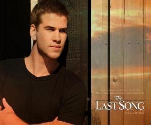Puzzle Affiche promotionnelle La dernière chanson (Liam Hemsworth)