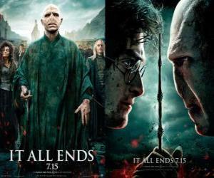 Puzzle Affiches Harry Potter et les Reliques de la Mort (6)