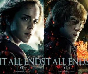 Puzzle Affiches Harry Potter et les Reliques de la Mort (4)