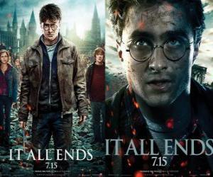 Puzzle Affiches Harry Potter et les Reliques de la Mort (3)
