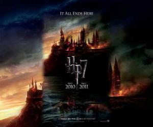 Puzzle Affiches Harry Potter et les Reliques de la Mort (1)
