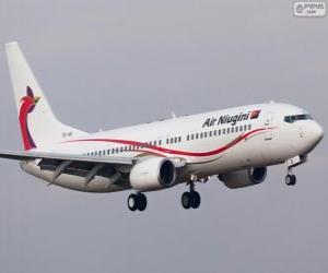 Puzzle Air Niugini est la compagnie aérienne nationale de la Papouasie-Nouvelle-Guinée