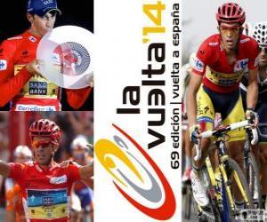 Puzzle Alberto Contador, champion du Tour d'Espagne 2014