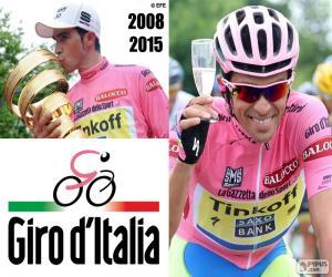 Puzzle Alberto Contador, Giro 2015