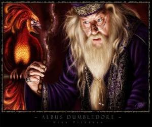 Puzzle Albus Dumbledore est le magicien le plus puissant de toute la saga