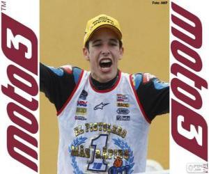 Puzzle Alex Márquez, champion du monde 2014 Moto3