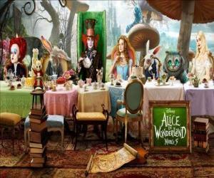 Puzzle Alice est l'invité d'honneur à le Folle Fête du Thé