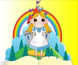 Puzzle Alice, la jeune fille au pays des merveilles