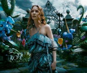 Puzzle Alicia (Mia Wasikowska) au pays des merveilles