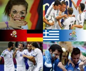 Puzzle Allemagne - Grèce, quart de finale, Euro 2012