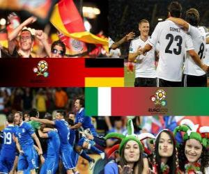 Puzzle Allemagne - Italie, demi-finales  Euro 2012