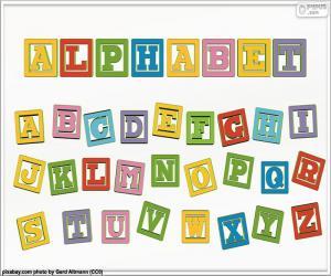 Puzzle Alphabet de couleurs