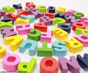 Puzzle Alphabet en spirale