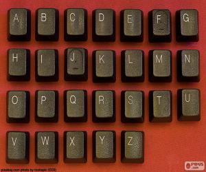 Puzzle Alphabet les clés
