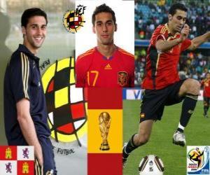 Puzzle Álvaro Arbeloa (Le Spartan) défense de l'équipe nationale Espagnol