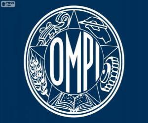Puzzle Ancien logo de l'OMPI, Organisation mondiale de propriété intellectuelle