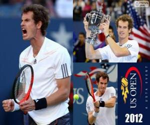 Puzzle Andy Murray champion US Open de tennis 2012