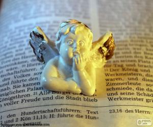 Puzzle Angel et la Bible