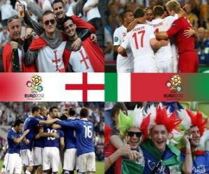 Puzzle Angleterre - Italie, quart de finale, Euro 2012