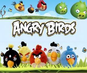 Puzzle Angry Birds de Rovio. Jeux vidéo