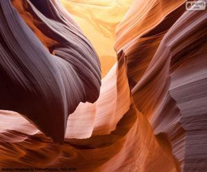 Puzzle Antelope Canyon, Etats-Unis