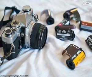 Puzzle Appareil photographique reflex