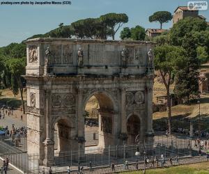 Puzzle Arc de Constantin, Rome
