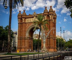Puzzle Arc de Triomphe de Barcelone