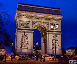 Puzzle Arc de Triomphe, Paris