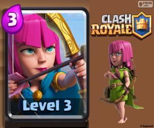 Puzzle Archers de Clash Royale