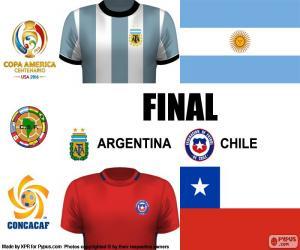 Puzzle ARG-CHI finale Copa America 2016