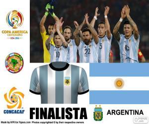 Puzzle ARG finaliste, Copa América 2016
