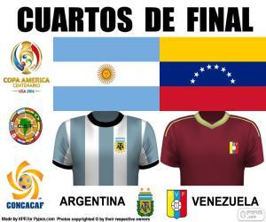 Puzzle ARG - VEN, Copa América 2016