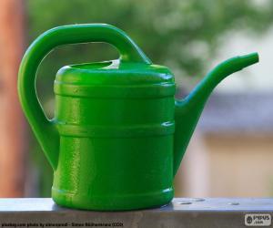 Puzzle Arrosoir vert